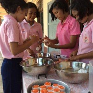 โครงการโตไปไม่ว่างงาน  กลุ่ม เด็กไทยใจกตัญญู