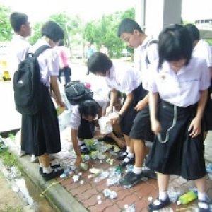 โครงการโรงเรียนสวยด้วยมือเรา โรงเรียนสำโรงทาบวิทยาคม จ.สุรินทร์