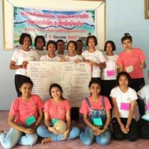 โครงการ ค.ส.ช. (คืนความสุขให้ชุมชนช้างกลาง) กลุ่ม คันทรีเกลอ   จ.นครศรีธรรมราช