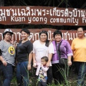 โครงการเยาวชนสำรวจพันธุ์ไม้ในป่าชุมชน  เพื่อสร้างองค์ความรู้แก่คนในชุมชน (กลุ่มเยาวชนอนุรักษ์ป่ายูงทอง  จ.สุราษฎร์ธานี)