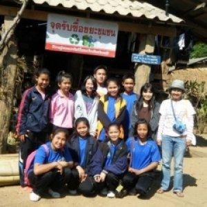 โครงการเยาวชนรักษ์สิ่งแวดล้อม(กลุ่มเยาวชนรักษ์สิ่งแวดล้อม โรงเรียนสันป่าไร่)