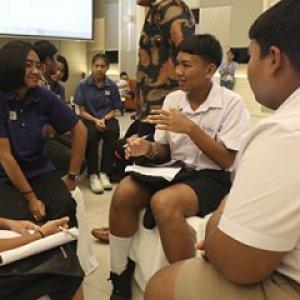 โครงการพัฒนาศักยภาพเยาวชนบนฐานความรู้สู่การขับเคลื่อนงาน Active Citizen จังหวัดสุราษฎร์ธานี